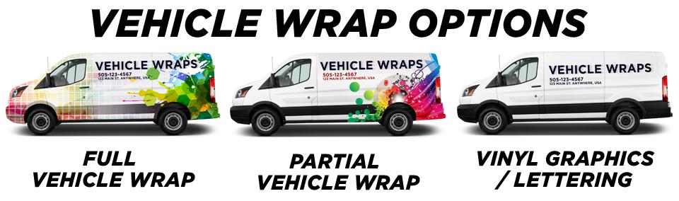 Vehicle Wraps vehicle wrap options