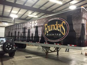 Complete Semi Trailer Wrap